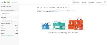 nerdwallet u0027s mortgage calculator allows buyers to determine how