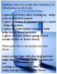 What To Drink Before Bed Health The Correct Way Of Drinking Water As Per Ayurveda And What