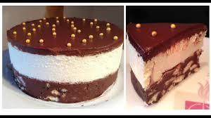 recette cuisine gateau chocolat gateau biscuits crème chocolat blanc nappage chocolat noir