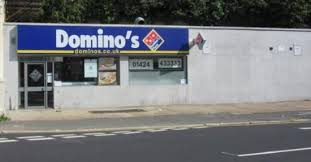 Domino S   typical good dominos review of domino s pizza hastings england