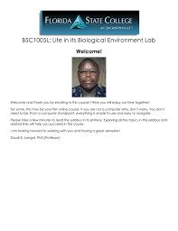 bsc1005l biology laboratory