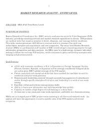 market research analyst resume sample investment banking resume