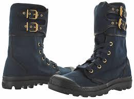 buy palladium boots nz palladium pa peloton s canvas combat boots ebay
