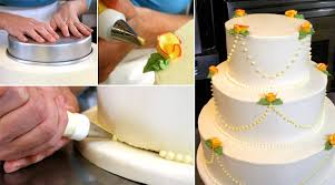 cake how to make your own wedding cake weddings epicurious