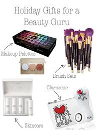 Gifts For Makeup Artists Holiday Gifts For A Beauty Guru U2022 Chambery And Champagne