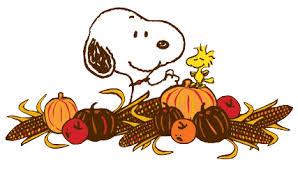 peanuts thanksgiving clip clipart