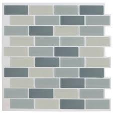 amazon com bostom wall tile anti mold peel u0026 stick adhesive vinyl