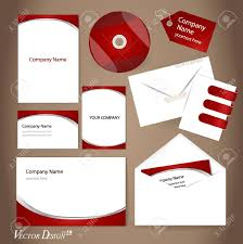 Business Card And Letterhead Design Template Business Style Templates For Your Project Design Royalty Free
