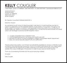 cover letter sample rn elegant clinical nurse specialist cover