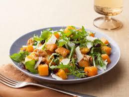 cuisine butternut roasted butternut squash salad with warm cider vinaigrette recipe