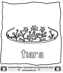 Crown Coloring Page Princess Crown Coloring Page Free Coloring Sheets