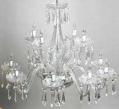 12 Arm Chandelier Waterford Comeragh Cut 12 Arm Chandelier Waterford