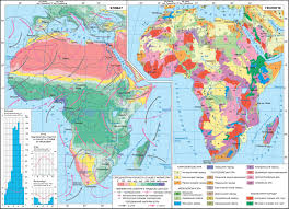 Africa Climate Map by Africa Climate Geology The Geography Of Continents And Oceans