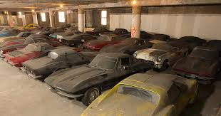 Barn Full Of Classic Cars Dusty Corvettes Classic Corvette Collection Uncovered In New York