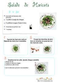 recette de cuisine a imprimer imprimer la recette de la salade de haricots verts chanson enfant