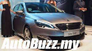 peugeot car price in malaysia 2015 peugeot 308 1 6l thp launch in malaysia autobuzz my youtube