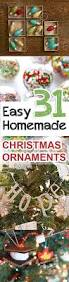 Christmas Tree Ornaments To Decorate by Best 25 Homemade Christmas Ornaments Ideas On Pinterest