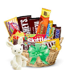 candy basket delivery easter bunny s candy basket at send flowers