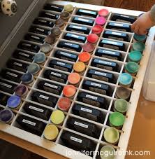 Jennifer Mcguire Craft Room - mini ink blending tool video by jennifer mcguire ink organizing