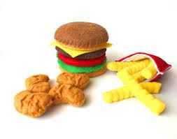 jeux de cuisine frite feutre alimentaire hamburger frites français poulet pépites