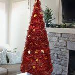 collapsible christmas tree christmas tree 5 collapsible pop up tinsel metallic cone modern