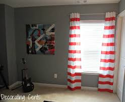 Red White Striped Curtains Colorful Curtains Light Red And White Striped Curtains Blue Free