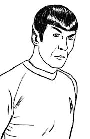 Dididou  coloriage Star Trek  page 2