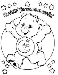 care bear coloring pages to download and print for free
