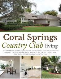 south florida real estate happenings coral springs homes for sale