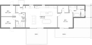 common house floor plans modern style house plan 3 beds 2 00 baths 1356 sq ft plan 497 35