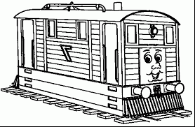 free printable train coloring pages for kids at thomas the drawing