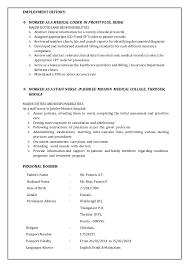 medical coding resume 6 homely design samples 9 sample