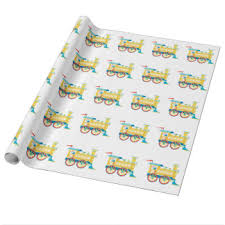children wrapping paper zazzle