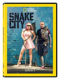 Seeking Season 3 Dvd Snake City Season 3 Dvd R Shop National Geographic