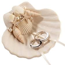 wedding ring holder seashell wedding aisle wedding ring holder candy cake weddings