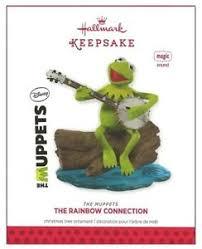 2013 hallmark the muppets kermit frog rainbow connection sound