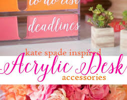 Girly Office Desk Accessories Desk Desks Wonderful Girly Office Desk Accessories Kate Spade