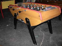Foosball Table For Sale Vintage French Bonzini Foosball Table Model B60 Item 373192