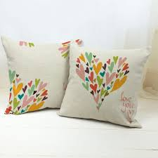 sale thick and thin cotton linen decor pillow new home fashion