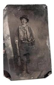 only surviving photo of billy the kid auctioned saturday the