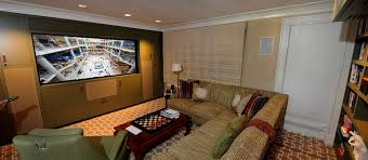Media Room Lounge Suites - smart home automation solutions from darien to greenwich ct