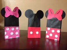 mickey mouse gift bags minnie mouse goody bags minnie mouse treat bags minnie mouse