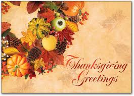 thanksgiving greetings postcard smartpractice chiropractic