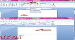 cara membuat nomor halaman yang berbeda di word 2013 cara membuat nomor halaman yang berbeda di ms word catatan el rani