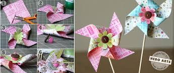 Pinwheel Decorations How To Make Paper Pinwheels Scraplifters