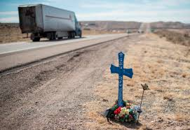 roadside crosses safekeeping i 25 memorials albuquerque journal