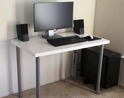 Narrow Computer Desks For Home Innovative Small Narrow Computer Desk Computer Desks Small Inside