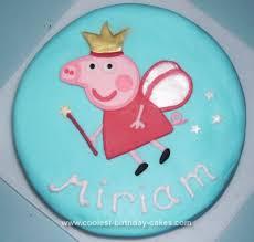 coolest peppa pig fairy birthday cake