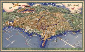 Hyde Park Chicago Map by Found A Great 1931 Birds Eye View Map Of Chicago Chicago