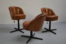 Esszimmerst Le Leder Retro Tischfabrik24 Lederstuhl
